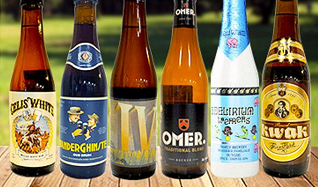 魅惑のベルギービール! 飲み比べ6本セット