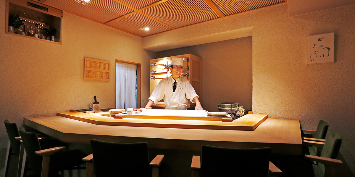 生産者の想いを一貫一貫に込めていく 福岡の住宅街で至福のひとときを