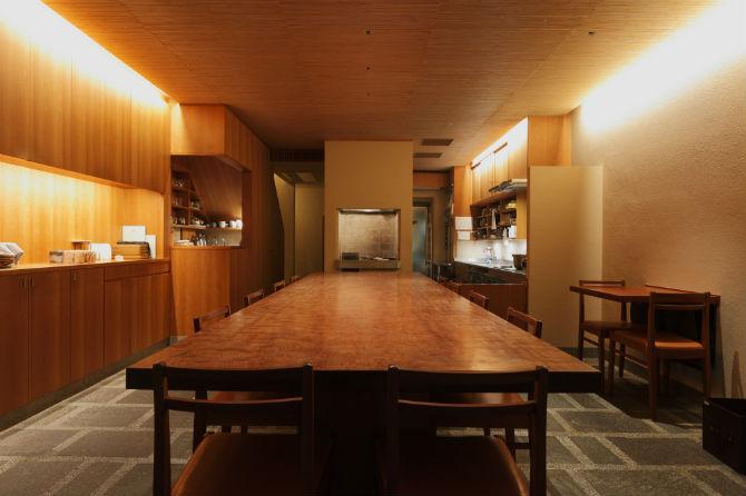 白川のほとりでいただく「京都の朝ご飯」