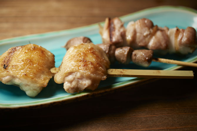 手間暇かけた焼鳥と燗が美味しい鳥取の純米酒を楽しむ