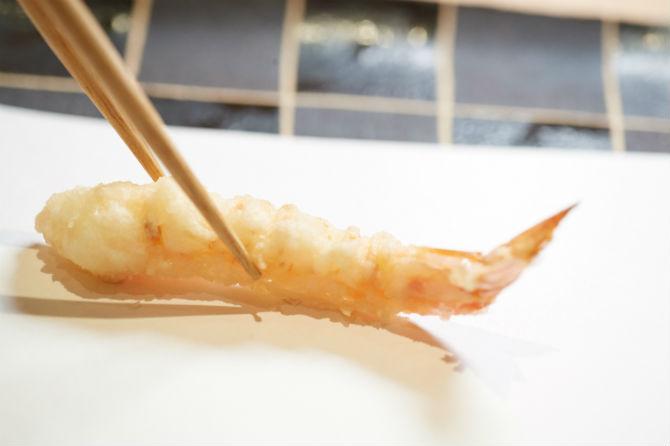 抑揚と驚きのある、食べ疲れない天ぷらの極意