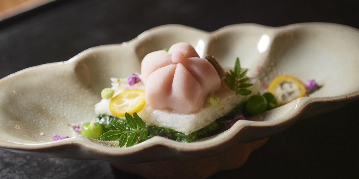 奈良を料理で再現する求道者による懐石